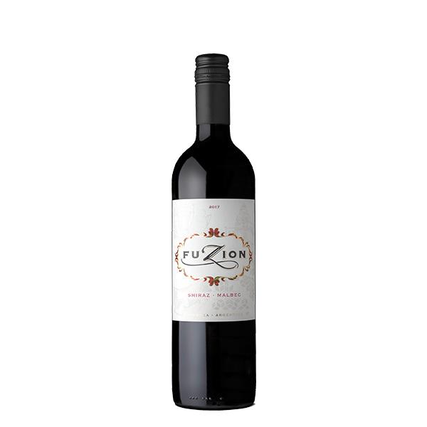 Bottle Fuzion shiraz malbec 2017 2