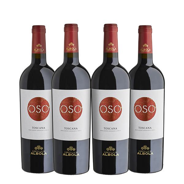 Castello d´ Albola Oso 750ml x 4 botellas