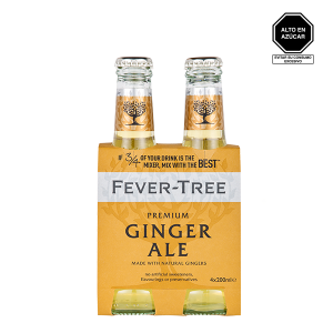 Fever Tree Ginger Ale 4 pack 1
