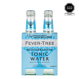 Fever Tree Mediterranean Tonic Water 4 pack 1