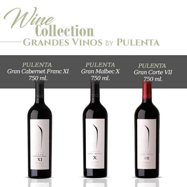Grandes vinos by Pulenta