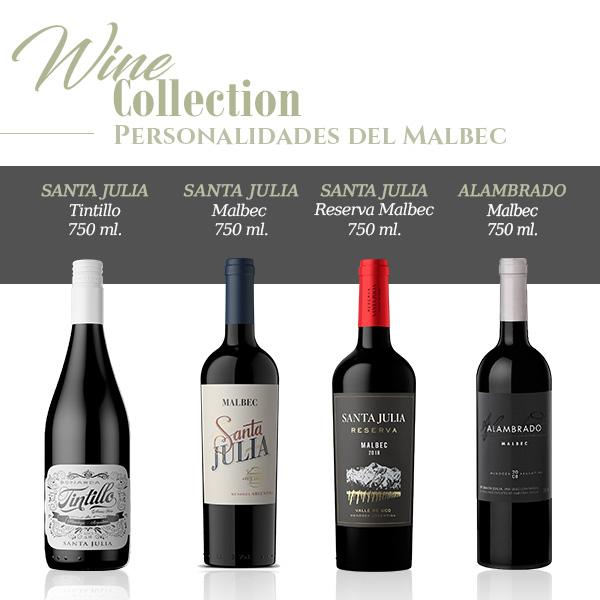 Wine collectionPersonalidades del malbce
