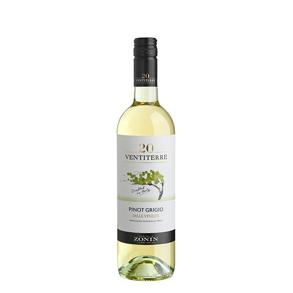 Zonin Pinot Grigio Ventiterre 750 ml