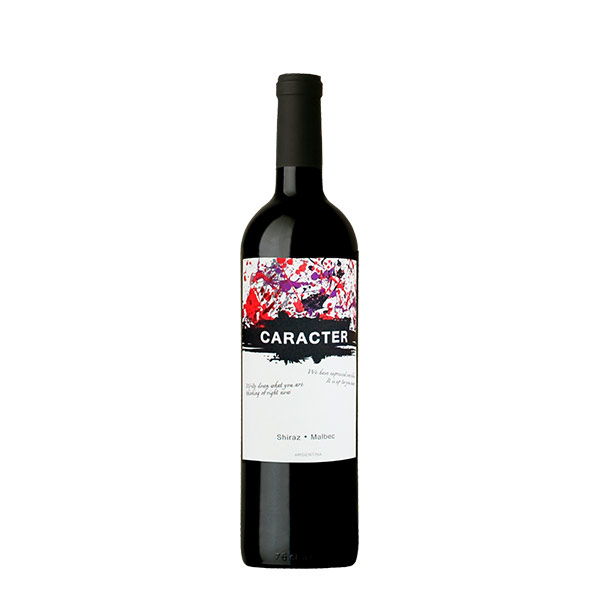 caracter shiraz malbec 750 ml 1