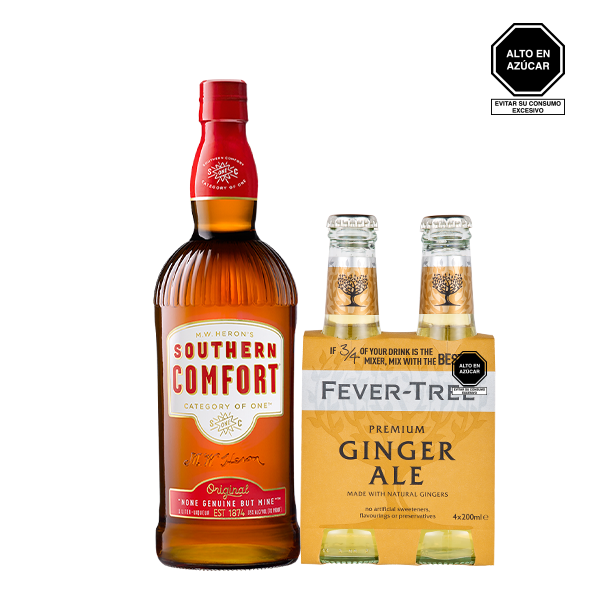 southern comfort ginger ale 1