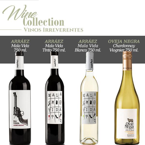 wine collection mujer irreverente vinos irreverentes