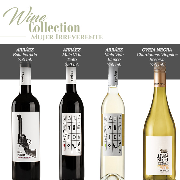 wine collection mujer irreverente
