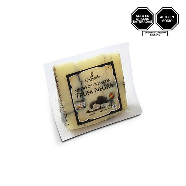 2484G Queso de Oveja con trufa negra La leyenda Spanish Cheese