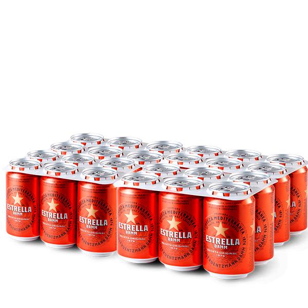Estrella Damm 24 Latas 330 ml