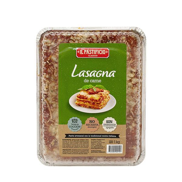 Lasagna de carne il pastificio 1 Kilo
