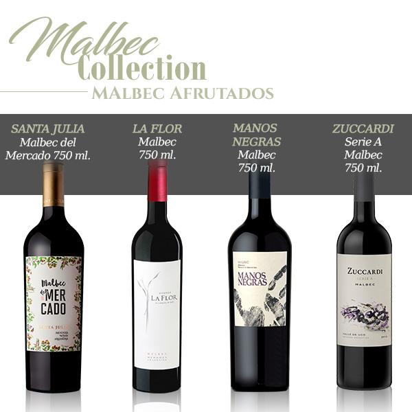 wine collection malbec afrutados