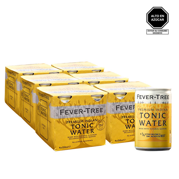 Fever Tree Indian Tonic 24 latas