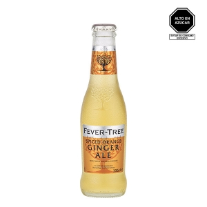 Fever Tree Spiced Orange Ginger Ale 200 ml