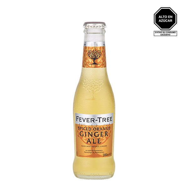 Fever Tree Spiced Orange Ginger Ale 200 ml