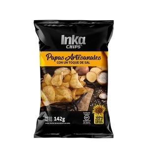 Inka chips Papas Artesanales Salt flat 142g