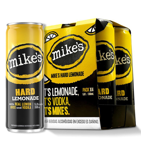 Mikes Hard Lemonade four pack
