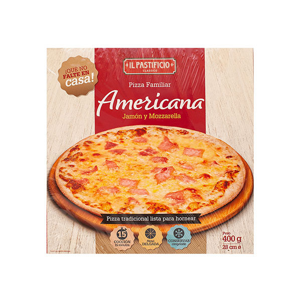 TG0003 PIZZA AMERICANA X 400G PASTIFICIO