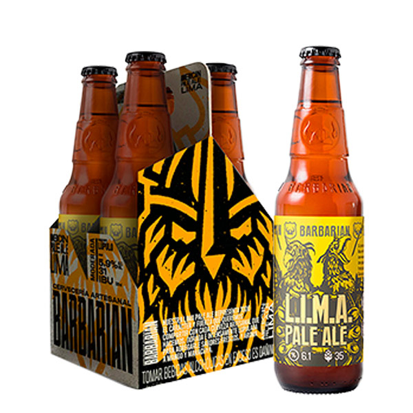 Barbarian Lima pale four pack