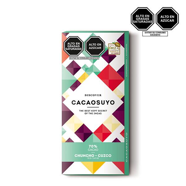 Cacaosuyo Chuncho 70 cacao 70gr