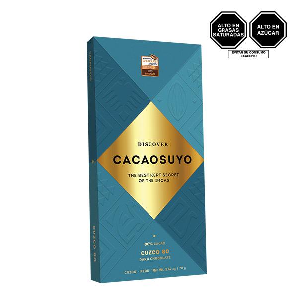 Cacaosuyo Cuzco 80 80 Cacao 70 gr