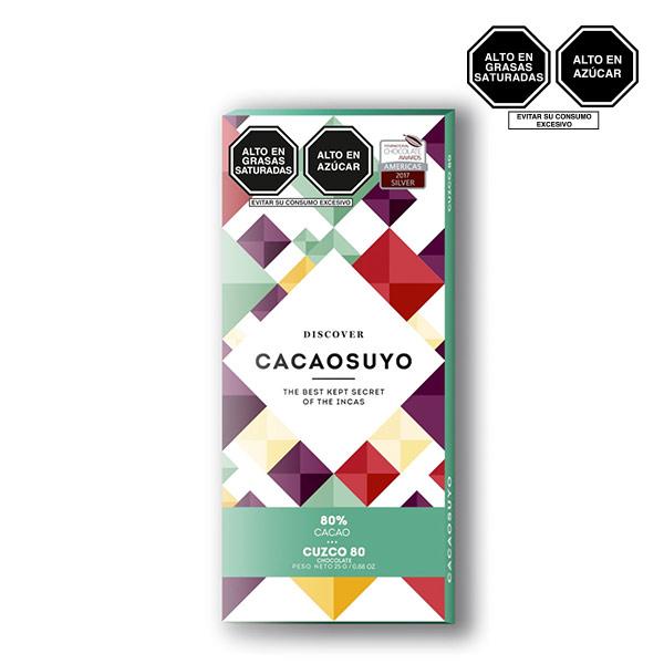 Cacaosuyo Cuzco 80 cacao 70gr