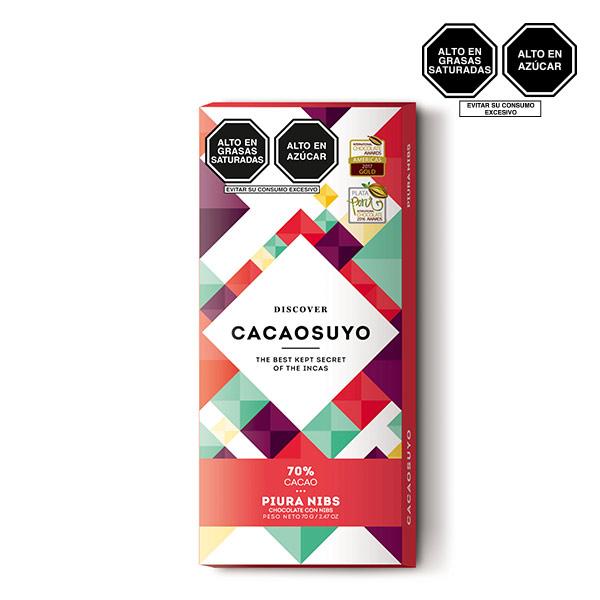 Cacaosuyo Piura Nibs 70 cacao 70gr