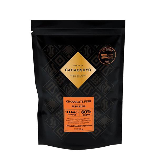 Cacaosuyo cobertura reposteria 60 cacao 70gr 1