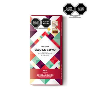 Cacaosuyo quinoa crunch 40 cacao 70gr