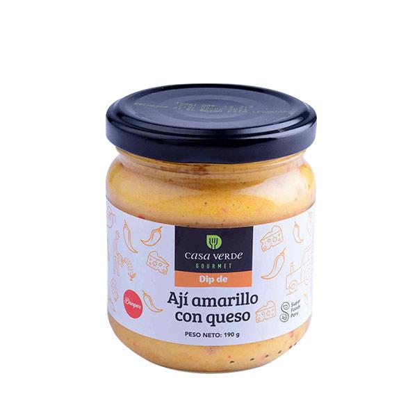 Dip de Aji Amarillo Con Queso 190 gr