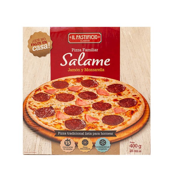 Pizza Salame 400g