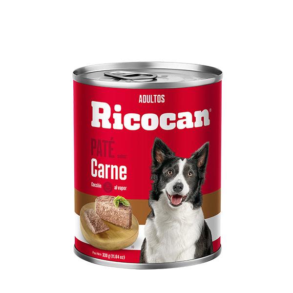 Ricocan Carne Adulto Pate lata 11.64 oz