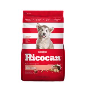 Ricocan sabor carne y leche cachorros razas medianas y grandes 15 kg