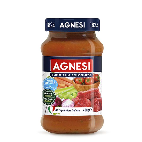 agnesi salsa pomodoro bolognese 400g