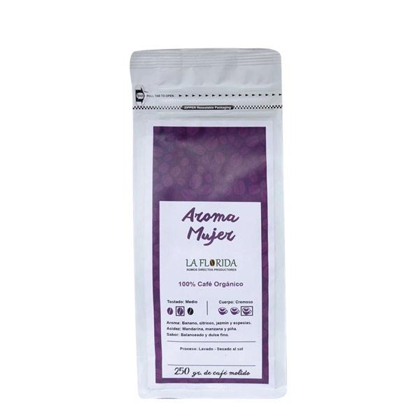 cafe la florida aroma mujer