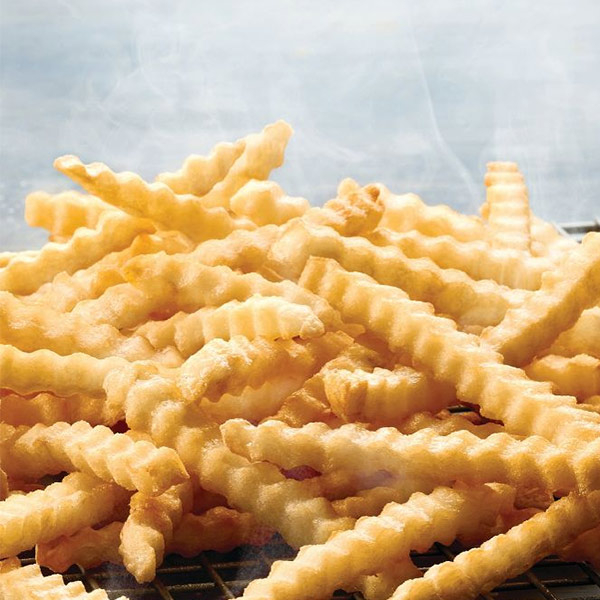 crinkle fries