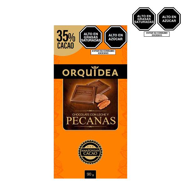orquidea con leche y pecanas 35 cacao