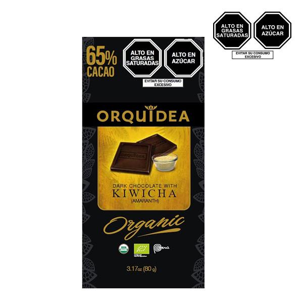 orquidea dark kiwicha 65 cacao
