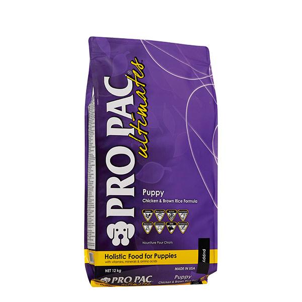 puppy chicken brown rice formula12 kg 01