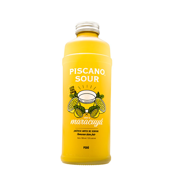 Piscano Sour de Maracuya 700 ml