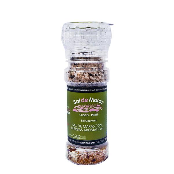 Sal de Maras con hierbas aromaticas 100 gr