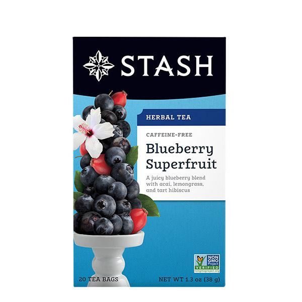 Stash Te Herbal Blueberry Super Fruta 38 g