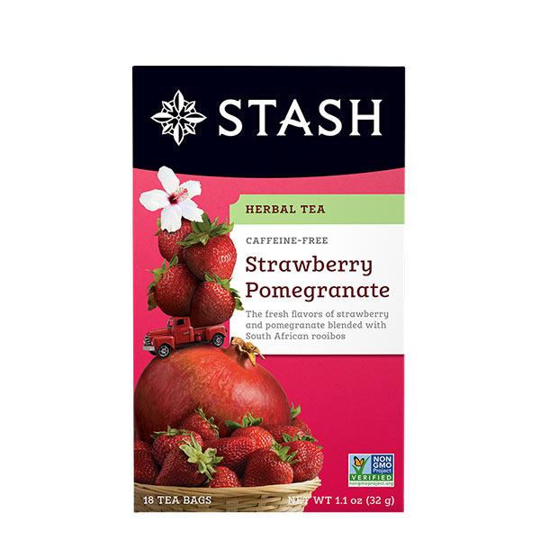 Stash Te Herbal Fresa y Granada 32 g
