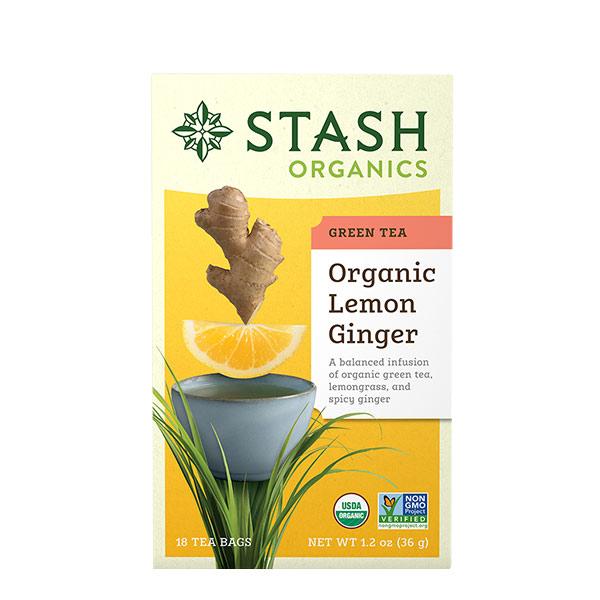Stash Te Verde Limon y Jengibre 36 g