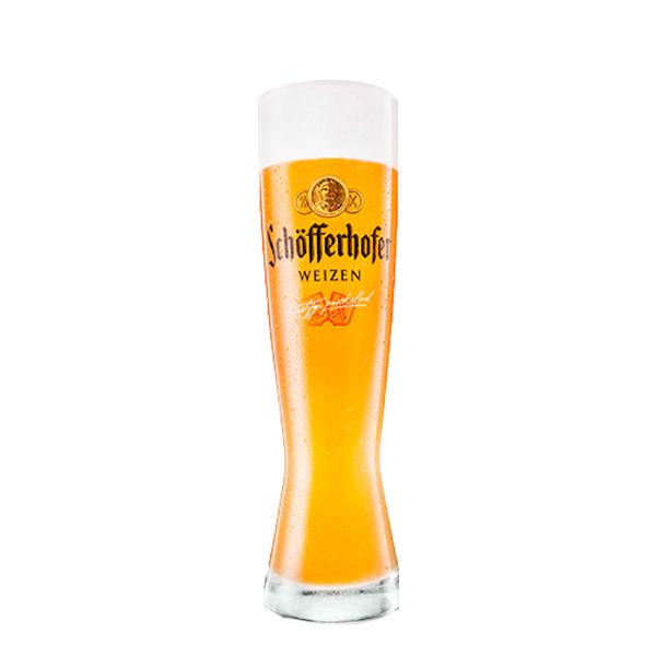 Vaso Schofferhofer sin filtrar 330 ml