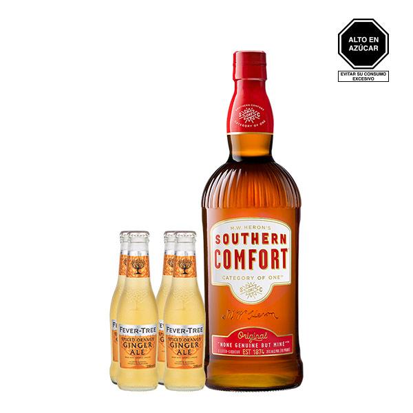 southern comfort ginger ale spiced orange