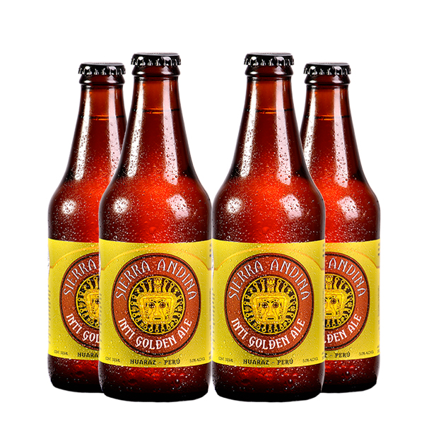 Sierra Andina Inti Golden Ale x 4 FOUR PACK