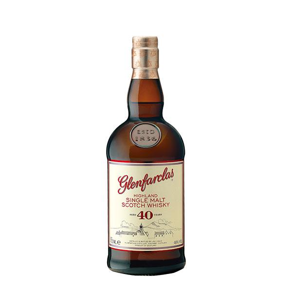 Glenfarclas 40 años 700 ml