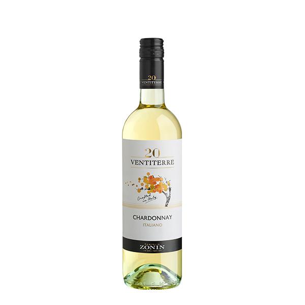 Zonin 20 Ventiterre Chardonnay 750 ml