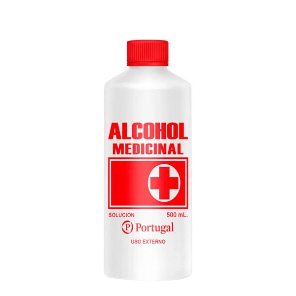 alcohol medicinal 500 ml