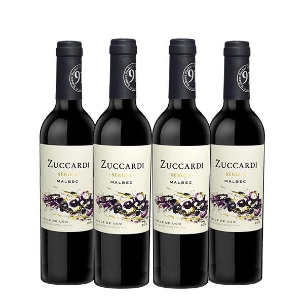 Zuccardi Serie A malbec 375ml x 4 botellas